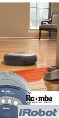 Roomba vacuuming Robot